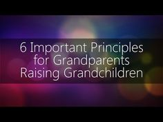 6 Important Principles for Grandparents Raising Grandchildren Grandparents Raising Grandchildren, Quotes About Grandchildren, Adoption Quotes, Adoption Day, Kids And Parenting, Parenting Hacks, Kinship Care, College Application Essay, Mommy And Son