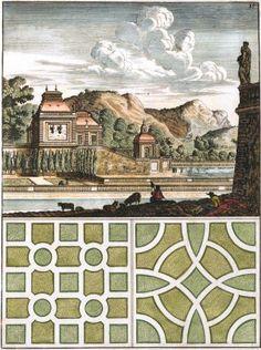 Pl. 15. Adhuc alia aedibus hortensibus juncta amoenissimis. Architectura Curiosa Nova. Georg Andreas Boeckler, Georg Andreas Böckler.
