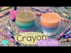 An Easy Tutorial For DIY Crayon Candles