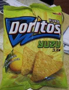 35 Strange Doritos Flavors From Around The World (But Mostly Asia) yuzu?