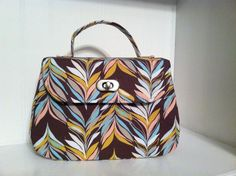 Free Bag Pattern - Swoon Sewing Patterns Mabel Vintage Handbag