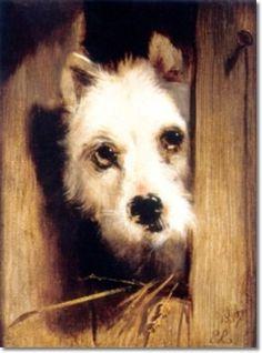 Terrier Three by Sir Edwin Landseer