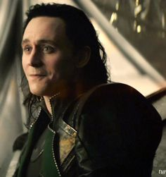 Tom Hiddleston~Loki   Gosh darn it that face and those puppy eyes I can't take it!