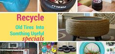 how+to+recycle+and+reuse+old+tires+into+planter+DIY+crafts+handmade