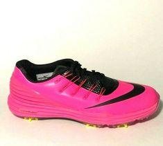 Nike Lunar Control 4 Womens Golf Shoes 7 Pink Blast Black 819034-600 #Nike Air Max Sneakers, Adidas Sneakers, Control 4, Nike Shoes For Sale, Womens Golf Shoes, Nike Lunar, Nike Golf, Ladies Golf, Nike Air Max