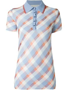 Purchase Online transparent checks polo shirt