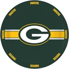 NFL Green Bay Packers Ceramic Serving Plate, Multicolor