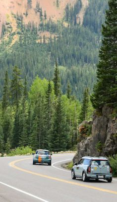 With its peaks, valleys, twists, and turns, the Million Dollar Highway portion of the San Juan Skyway in Colorado may be the most beautiful...