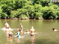 Nothing better than old-time fun in the creek on a warm day!