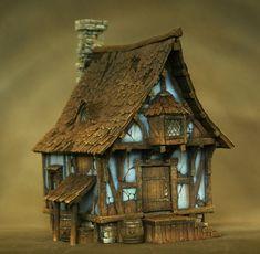 Timbered House by Richard Gray (https://www.facebook.com/richardgraycreations/photos)