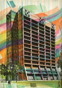 Hellmuth Obata Kassabaum. Architectural Record. Mar 1970: 64