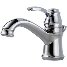For the Powder Room - Delta Nura Chrome Centerset WaterSense Bathroom Sink Faucet (Drain Included) Lowe's Bathroom Kids, Bathroom Sink Faucets, Bathroom Renos, Bathroom Renovations, Small Bathroom, Master Bathroom, Sinks, Bungalow Bathroom, Cottage Bathrooms