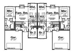 Nice but the Mater Bath needs to be larger. Floor Plan duplex