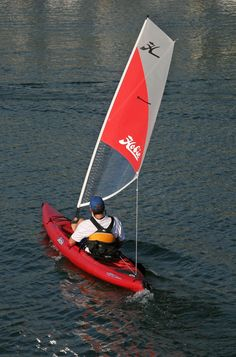 This is the fastest Hobie Kayak and you can choose to pedal, paddle, or sail.