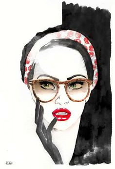 shu84: Sara Ligari Fashion Illustrations