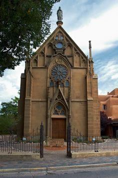 Loretto Chapel, Santa Fe, New Mexico. Photo by Andy New.