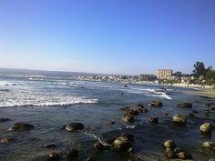 Playa de Algarrobo, V Región, Chile