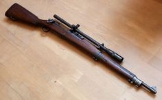Springfield 1903A3 with sniper scope