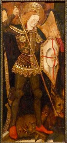 Martín de Soria - Saint Michael the Archangel. 1459 - 1460
