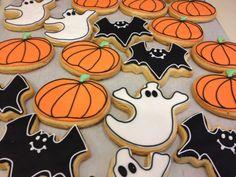 Μπισκότα Halloween! #sugarela #mpiskota #halloween