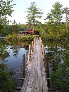 Island House, Maine.