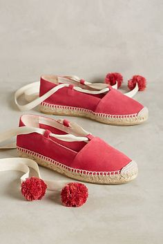 Anthropologie Favorites:: Spring 2017 Shoes and Bags Espadrilles Outfit, Valentino, Pink Flats, Shoes 2017, Leather Flats, Pink Leather, Kinds Of Shoes, Prada Shoes, Shoe Brands
