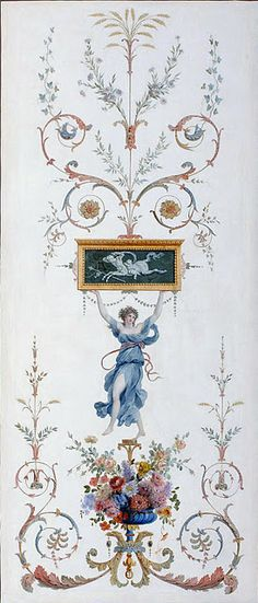 Panel from the collection at the Musée Des Arts Decoratif, in Paris