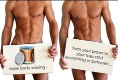 Male Body Waxing is No longer Foreign Territory