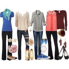 Teacher outfits | Teacher Outfits on a Teacher's Budget 13: Jeans - Polyvore