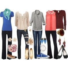 Teacher outfits | Teacher Outfits on a Teacher's Budget 13: Jeans - Polyvore