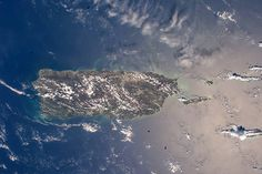 Puerto Rico From the Space Station:  Puerto Rico photographed from low Earth orbit