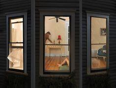 Blackmon, Julie (1966- ) - 2009 Night Windows | Flickr - Photo Sharing!