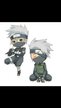 Naruto Kakashi, Anime Naruto, Naruto Chibi, Naruto Cute, Naruto Shippuden Anime, Boruto, Anime Chibi, Chibi Kawaii, Cute Chibi