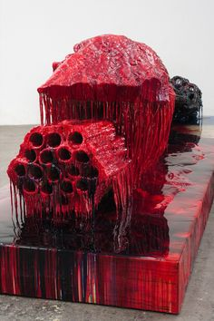Sterling Ruby, CDCR/ PVC on ArtStack #sterling-ruby #art