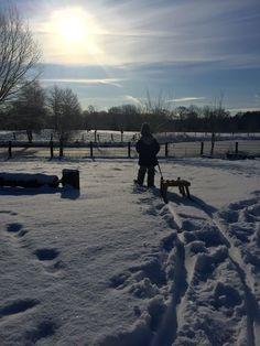 Ein Wintertag im Schnee / Jetzt auf meinem Blog!