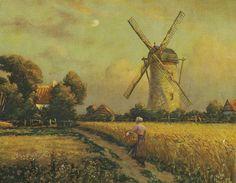Vintage Dutch Print