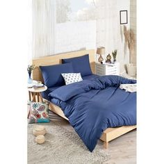 Povlečení s prostěradlem na dvoulůžko Mena, 200 x 220 cm Comforters, Diy Crafts, Couch, Blanket, Bed, Furniture, Home Decor, Creature Comforts, Quilts