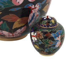 Butterfly Cloisonne Keepsake Urn   Cremation Urn for Ashes Small   Available at Stardust Memorials