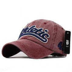 9d12f47c757 Washed Denim Baseball cap Snapback Hats Autumn Summer Hat for Men Women Caps  Casquette hats Letter Embroidery Gorras