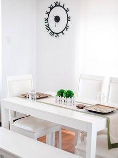A Look Inside the Charming Home of a Real Living Reader Condo Interior Design, Condo Design, House Design, House Tours, Office Desk, Furniture, Home Decor, Desk Office, Decoration Home