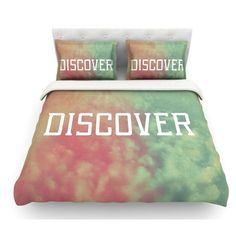 East Urban Home Discover by Rachel Burbee Featherweight Duvet Cover Size: