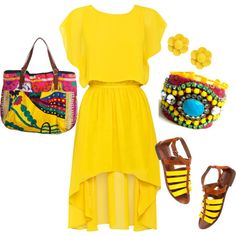 Love the style, but yellow's not my color.  Would def wear in a different color tho!  :)