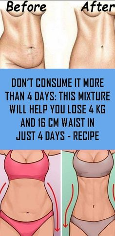 Don't Consume It More Than 4 Days: This Mixture Will Help You Lose and Waist in Just 4 Days - Natural Remedies - Gewicht Verlieren Hair Growth Home Remedies, Home Remedies For Acne, Healthy Tips, Healthy Habits, How To Stay Healthy, Healthy Women, Natural Medicine For Anxiety, Holistic Medicine, Weight Loss Drinks
