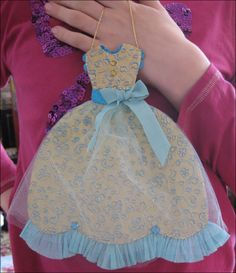 paper dress ornaments - Google Search