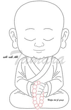 This Pin was discovered by Ros Embroidery Hoop Decor, Embroidery Cards, Embroidery Patterns, Stitch Patterns, String Art Templates, String Art Patterns, Craft Patterns, Buddha Drawing, Rhinestone Crafts