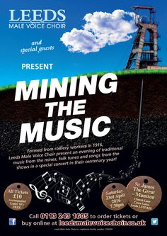 Mining the Music. 23 April 2016.  St James the Great - Manston.