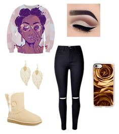 """""""Untitled #72"""" by laylay1224 ❤ liked on Polyvore featuring UGG and Casetify"""