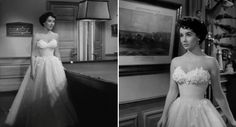 """Elizabeth Taylor """"A Place in the Sun"""" 1951, design by the legendary Edith Head"""