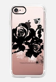 Black Rose iPhone 7 Case by Li Zamperini | Casetify