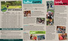 Camp Story Summer Brochure